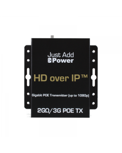 Just Add Power - 2GΩ3G PoE Transmitter 1080p