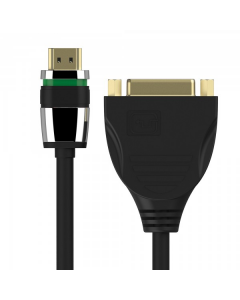 Ultimate Series - HDMI/DVI Portsaver Adapter 0.10m
