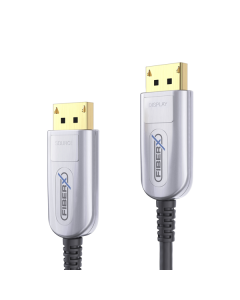 FX Series - DisplayPort 4K Fiber Extender Cable - 25m
