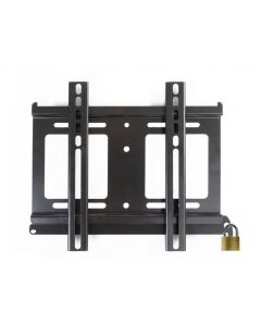 ProofVision - Outdoor Weatherproof Fixed Wall Bracket for the Lifestyle Outdoor TVs with a lock feature