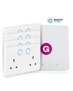 Aurora - AOne smart hub + 4 Zigbee Double Smart Socket