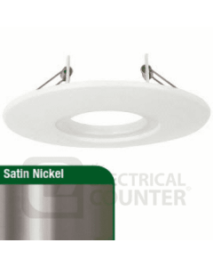 Aurora - 85-145mm m10™ Downlight Adaptor Plate Satin Nickel