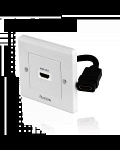 PureInstall - HDMI Wallplate 1-Port