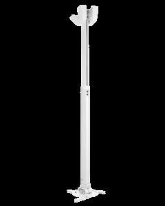 Vogels Pro - Projector ceiling mount, length 550-850mm, white