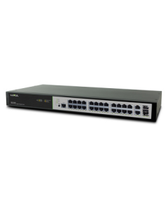 Luxul - 26-Port/24 POE+ Gigabit Managed Switch
