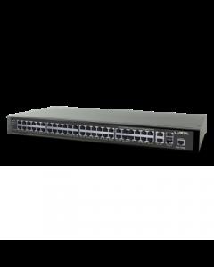 Luxul - 52-Port Stackable Gigabit POE+ L2/3 Managed Switch