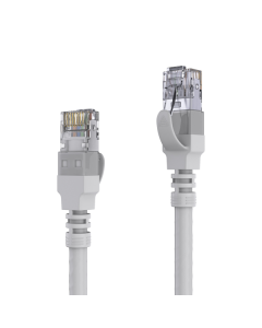 AVIT Media - CAT 6A Patch Cable. AWG 26 - grey - 25.00m