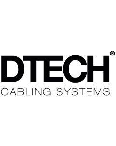 DTECH DT100 PVC Brown CAI Approved Coax 100m