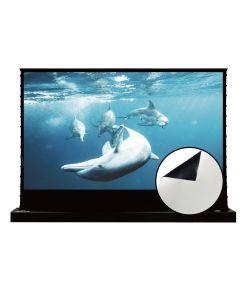 Vividstorm - Floor Rising Screen in Cinema White for Standard Projectors