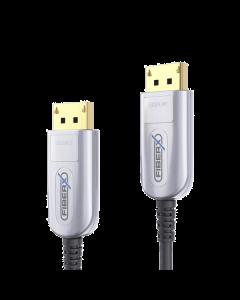 FX Series - DisplayPort 4K Fiber Extender Cable - 100m