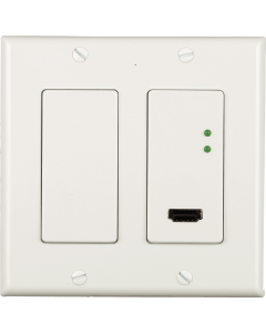 """Just Add Power - 3G POE in wall 2 gang transmitter less that 1.5"""" deep"""